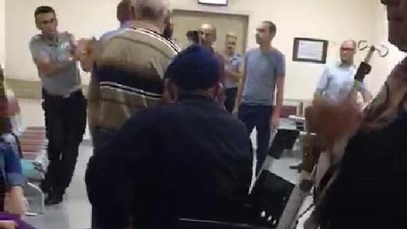 Hastanede muayene sırası kavgası