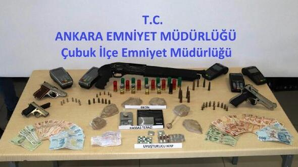 Ankarada uyuşturucu operasyonuna 8 tutuklama