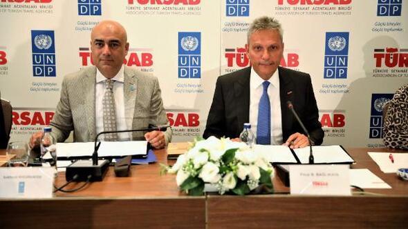 TÜRSAB ile UNDB arasında işbirliği zaptı imzalandı
