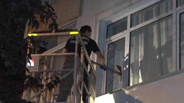 Rahatsızlanan yaşlı kadını, pencereden eve giren itfaiye kurtardı