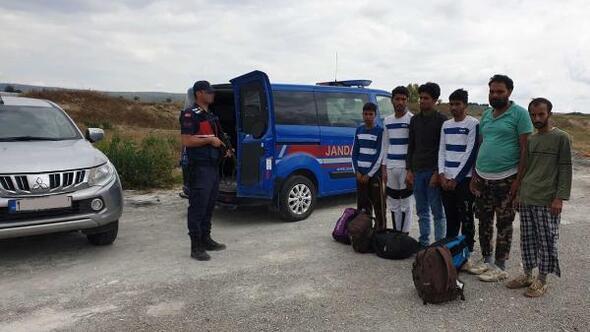 Çankırı'da 6 kaçak göçmen yakalandı