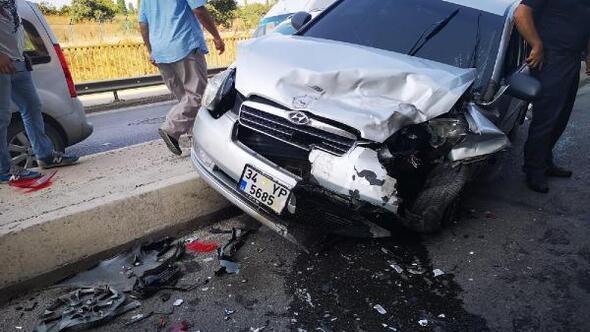 Kartalda zincirleme trafik kazası: 3 yaralı