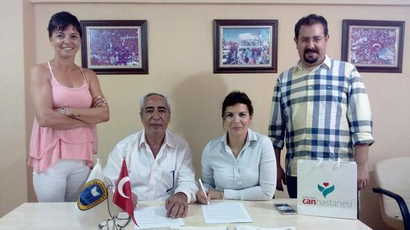 Türkiye Gazeteciler Sendikası ile Can Hastanesi işbirliği