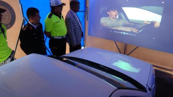 Drone tespit etti, sürücüler Yaşam Tüneli nde bilgilendirildi