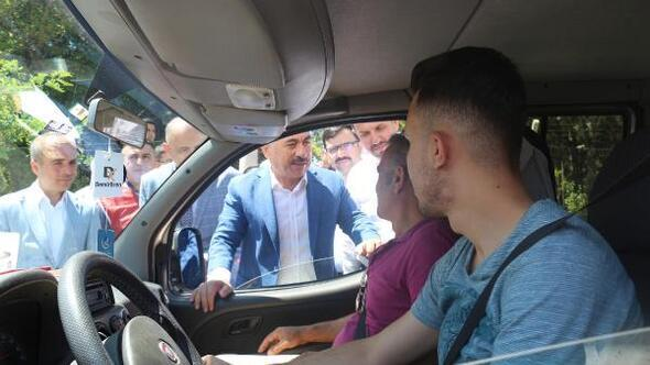 Bakan Yardımcısı Ersoy, Çankırıda trafik denetimine katıldı