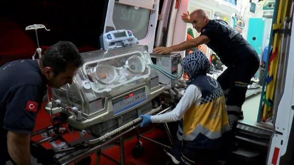 Kalp damarları ters olan Leo bebek İstanbula getirildi