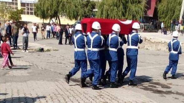 Kazada hayatını kaybeden gazi, son yolculuğuna uğurlandı