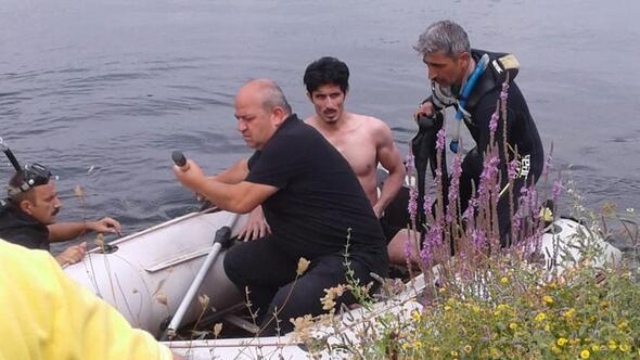 Dalgıçlar boğulmaktan kurtardı