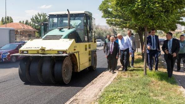 Kayseride asfalt çalışmaları sürüyor