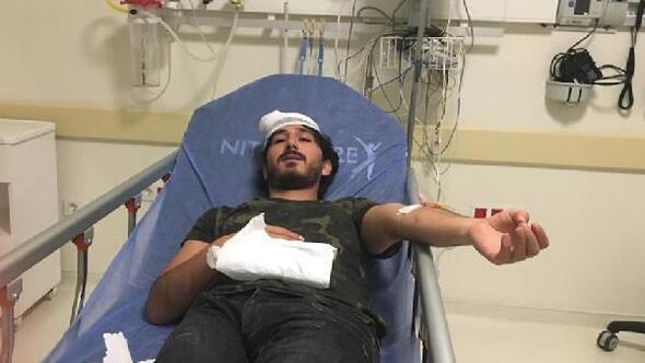 Rapor almaya gelen baba- oğul, doktoru dövdü