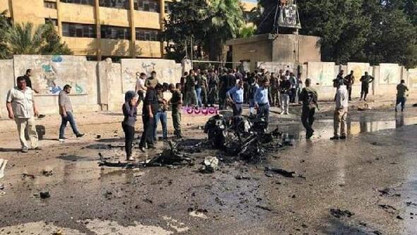 Kamışlıda bomba yüklü otomobil infilak etti: 3 ölü, 1 yaralı