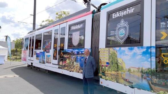 Eskişehir görselleri Frankfurt metrosunu süsledi