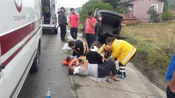 Karabükte yağmur kazaları: 22 yaralı