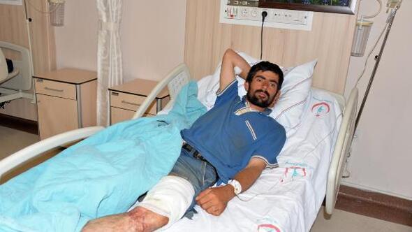 Ayının saldırısına uğrayan Afgan çoban yaralandı