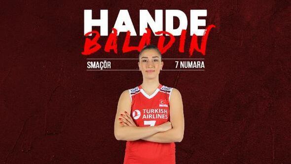 Hande Baladın: A Milli Takım formasını taşımak hepimiz için bir gurur