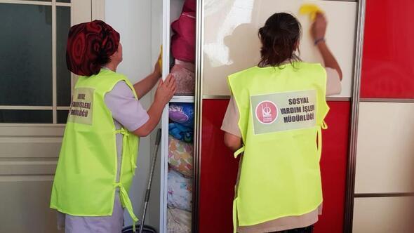 İhtiyaç sahipleri için köşe bucak temizlik