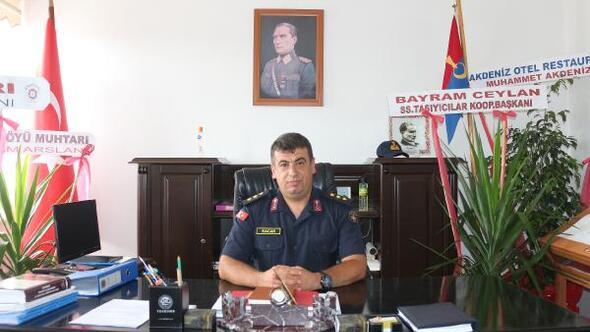Dinar Jandarma Komutanı göreve başladı