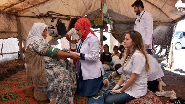Yaylalarda kalanlara mobil sağlık hizmeti