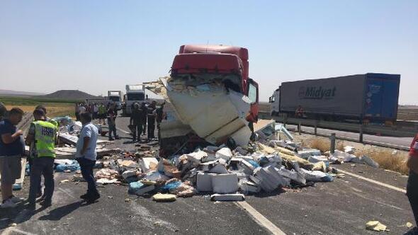 Mardinde zincirleme kaza: 1 ölü, 3 yaralı