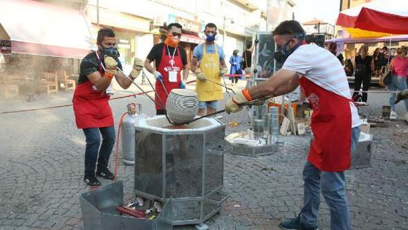 Şehrin Ateşi'nde sanatçılar çalışmalarını tamamladı