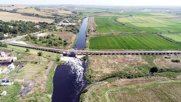 Ergene Nehrini kirleten sanayi, yer altı sularını kuruttu