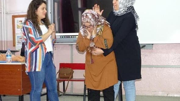 Hisarcık'ta ilk yardım kursu açıldı