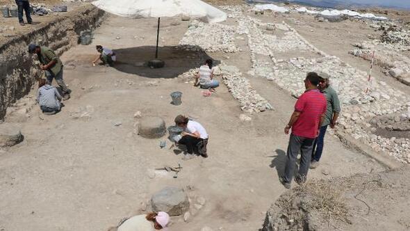Amasyadaki kazıda 2500 yıllık posta merkezi kalıntıları bulundu