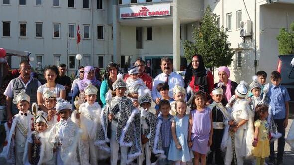 Dinarda zafer kutlaması ve sünnet şöleni