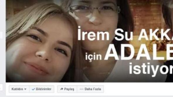 İrem Sunun ailesinden Adalet istiyoruz sayfası