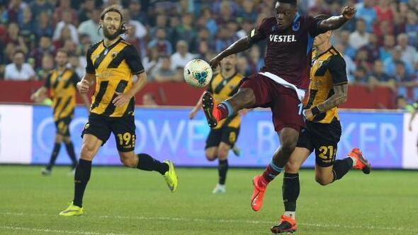 Trabzonspor'da Avrupa sevinci