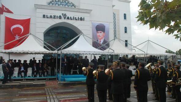 Elazığda, 30 Ağustos Zafer Bayramı kutlandı