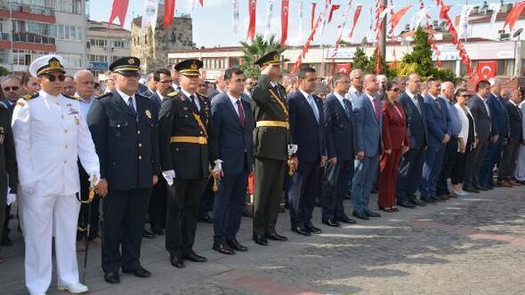 Sinopta 30 Ağustos Zafer Bayramı kutlandı