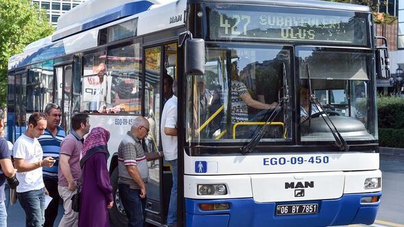 Ankara'da toplu taşımaya zam