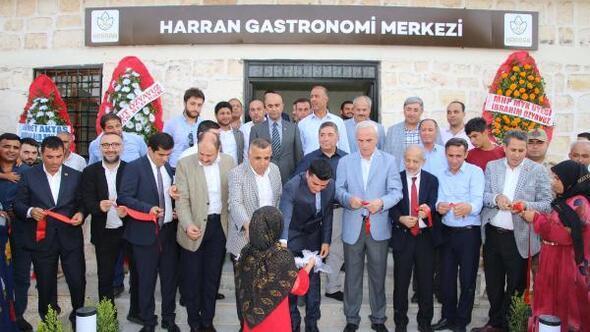 Harranda Gastronomi ve Gözlemevi Merkezi açıldı