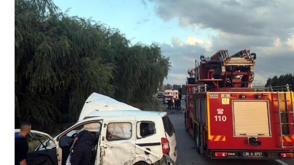 Bünyanda kaza: 3 yaralı
