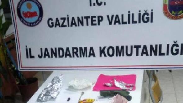 Gaziantepte uyuşturucu ticaretine 2 tutuklama
