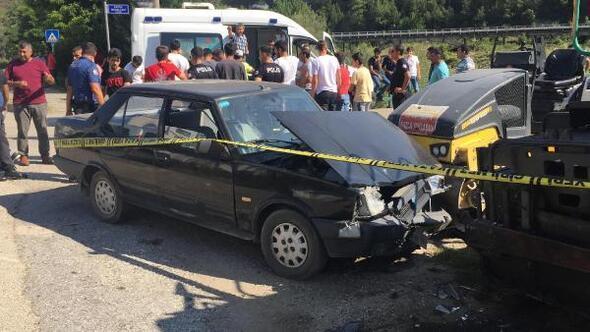 Karabükte 2 otomobil çarpıştı: 9 yaralı