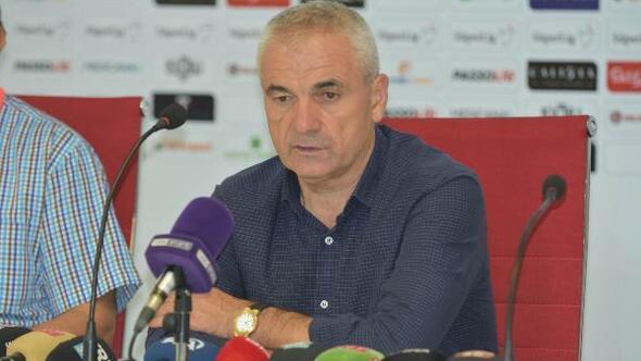 Demir Grup Sivasspor - Gazişehir Gaziantep maçının ardından