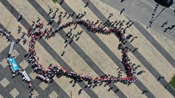 81 ilden gelen çocuklar, 100üncü Yıl Milli İrade Şenliğinde buluştu
