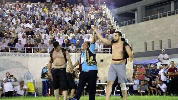 Dünyanın En Başarılı Güreşçileri Hatay'da Yarıştı