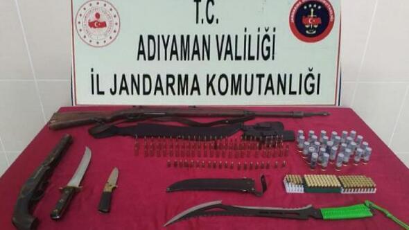 Adıyamanda, yasa dışı mermi satan şüpheliye gözaltı