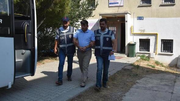 TIRlardan 23 akü çaldı, kiralık otomobille gittiği Antalyada yakalandı