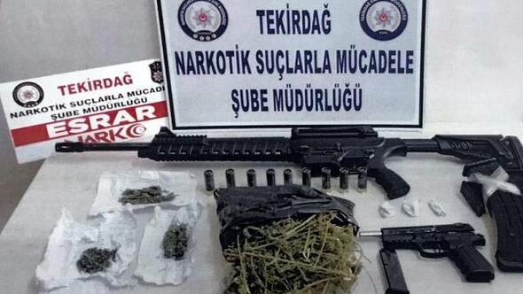 Tekirdağda uyuşturucu operasyonu: 15 gözaltı