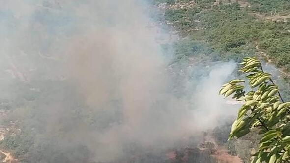 İznikte makilik alanda çıkan yangın söndürüldü