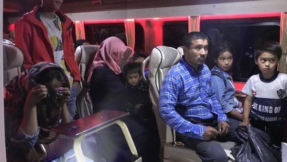 Çanakkale'de 103 kaçak göçmen yakalandı
