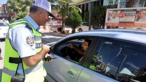 Kural ihlali yapan 310 sürücüye 40 bin 80 lira ceza