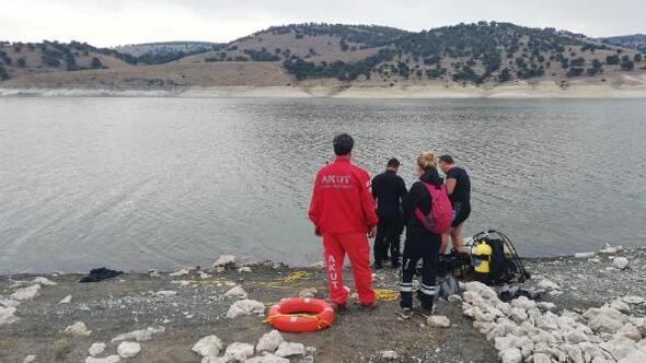 Baraj gölünde kaybolduğu iddia edilen Ercan Can için arama çalışması