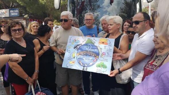 Marmara Adası Yunanistalı konukları ağırladı