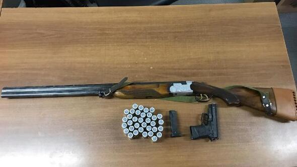 Av tüfeği ile ateş eden 3 kişi gözaltına alındı