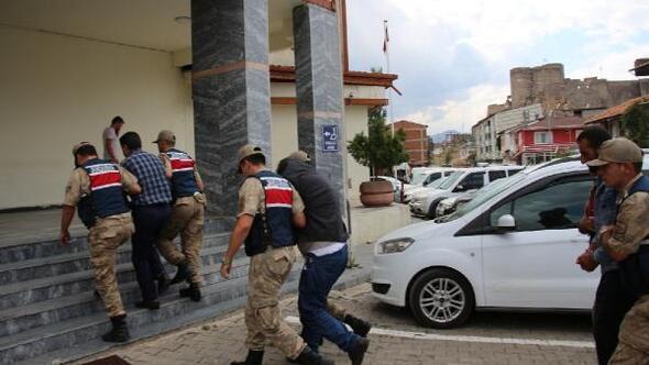 Erzurumda 60 büyükbaş çalan 6 kişi tutuklandı